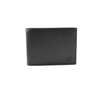 Timberland Mens Leather Wallet Black