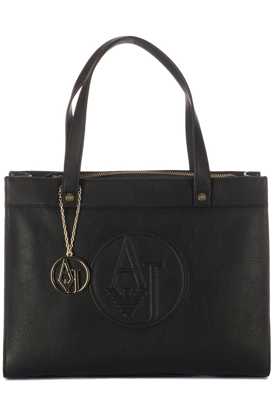 Armani Jeans Women Shopping Black Bag