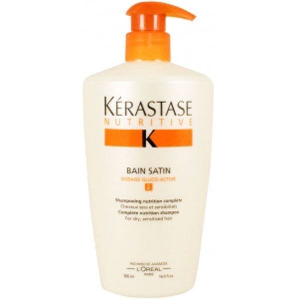 KERASTASE Nutritive Bain Satin 2 Complete Nutrition Shampoo for Dry Sensitised Hair (Limited Edition) 500ml
