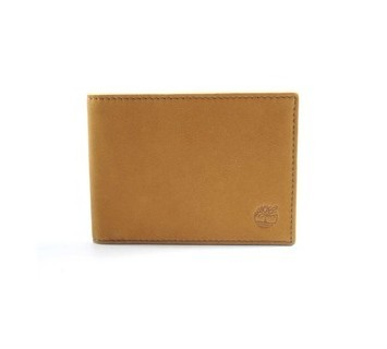 Timberland Mens Leather Wallet Yellow
