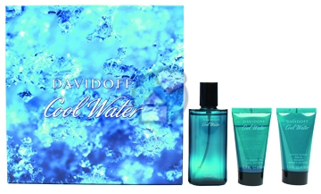 Davidoff Cool Water for Men 75ml EDT Spray Gift Set