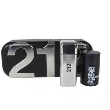 Carolina Herrera 212 VIP Men 100ml EDT Spray  100ml After Shave Lotion