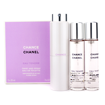 Chanel Chance Twist & Spray Eau De Toilette 3x20ml