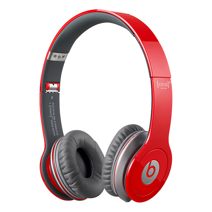 Dr Dre BEATS SOLO HD RED