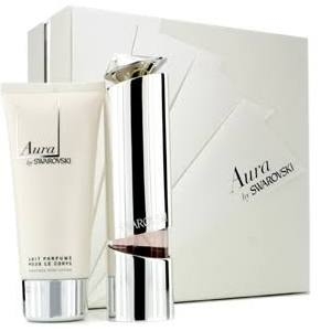 Swarovski Aura Gift Set 50ml EDP  100ml Body Lotion