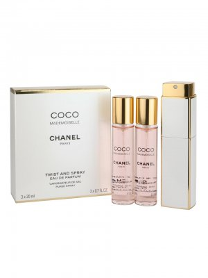 Chanel Coco Mademoiselle Eau de Toilette Spray 3x20 60 ml