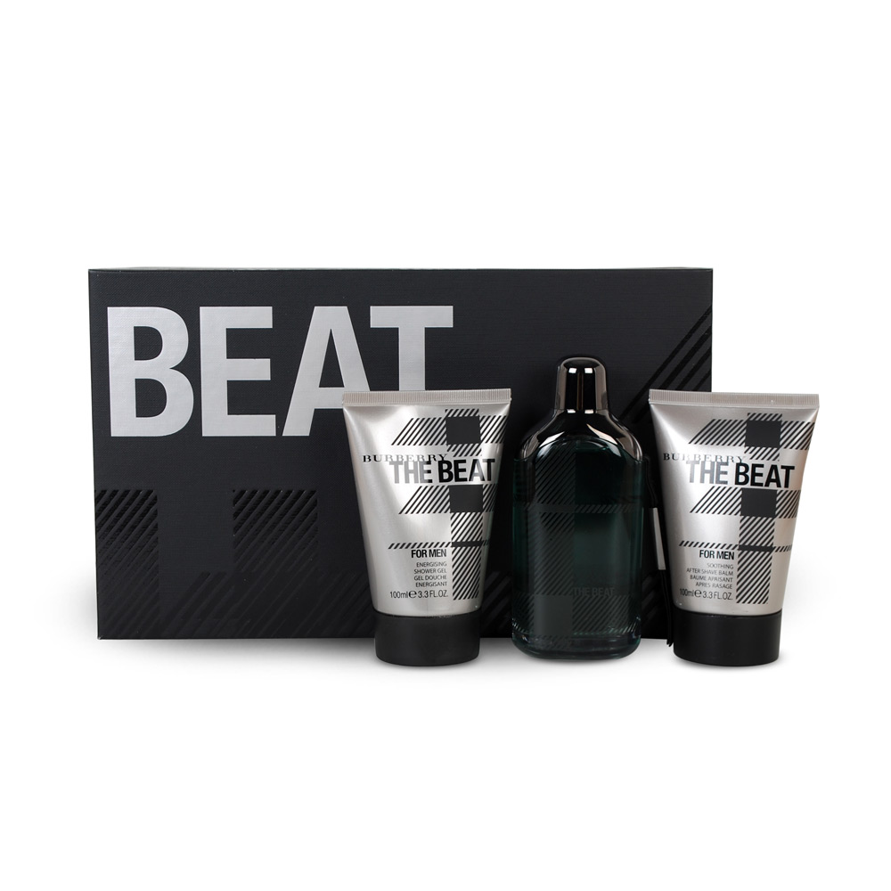 Burberry The Beat Men 100ml EDT Spray  100ml Shower Gel  100ml After Shave