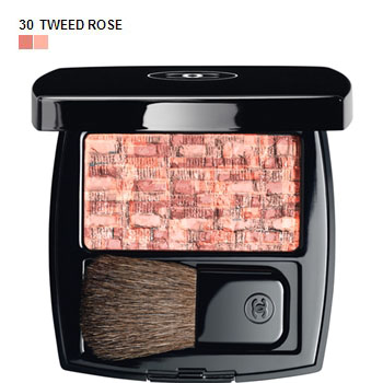 CHANEL LES TISSAGES DE CHANEL Blush Duo Tweed Effect 10 Tweed Pink 30 Tweed Rose