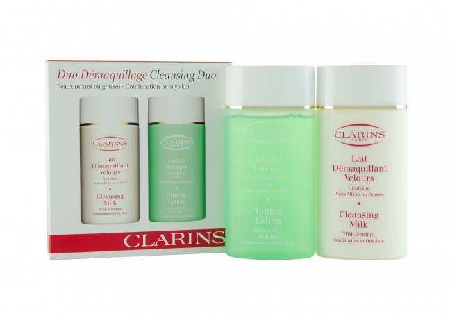 Clarins Clarins 100ml Beauty Gift Set  Comb or Oily Skin