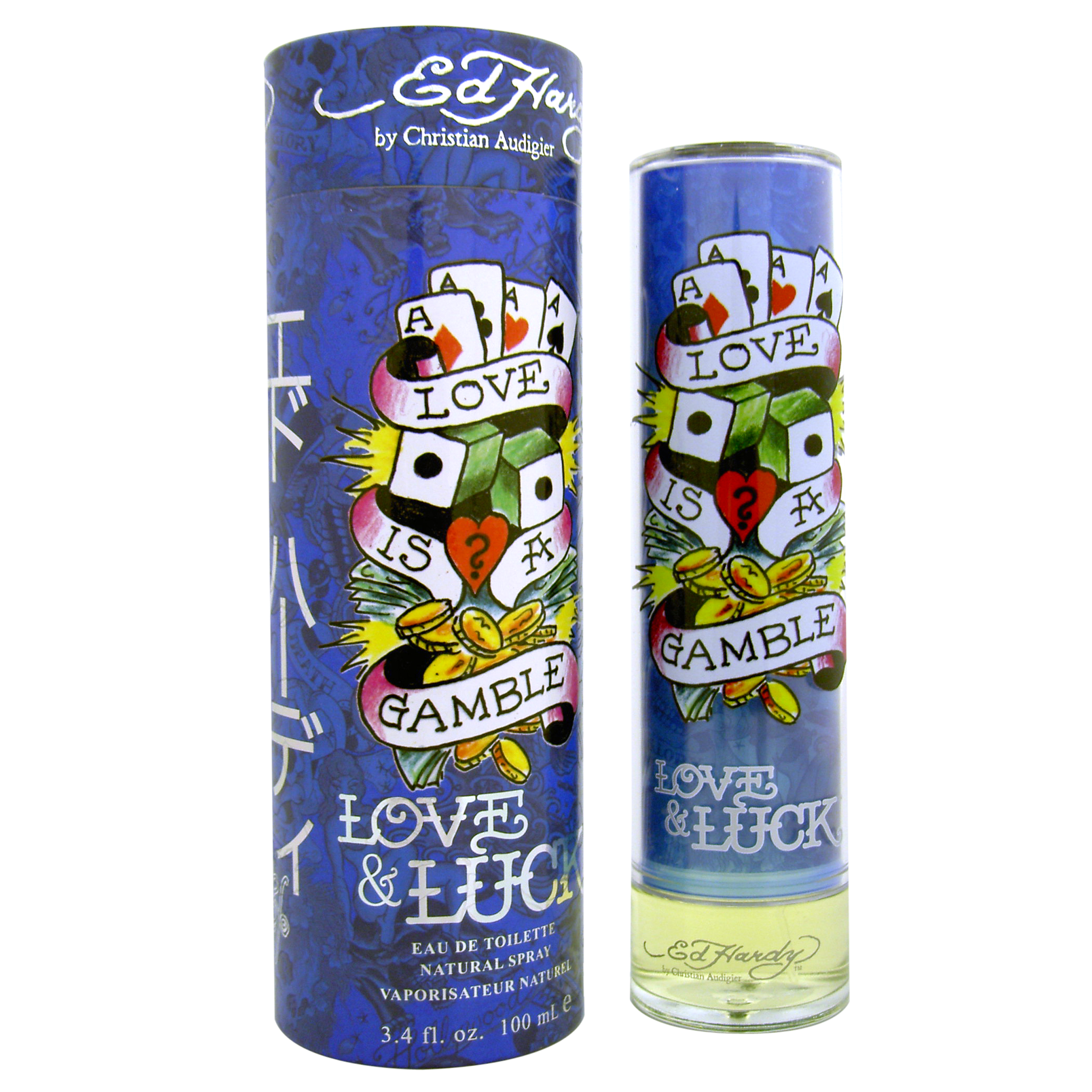 Christian Audigier Ed Hardy Love & Luck for Men EDT 100ml (Tester)