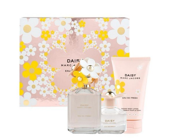 Marc Jacobs Daisy Eau so Fresh 125ml EDT 3 Piece Set