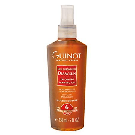 Guinot Sun Protection DiamSun Glowing Tanning Oil SPF6 150ml
