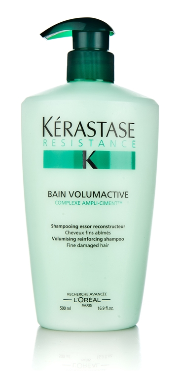 Kerastase Resistance Bain Volumactive Volumising Reinforcing Shampoo (for Fine Damaged Hair) 500ml