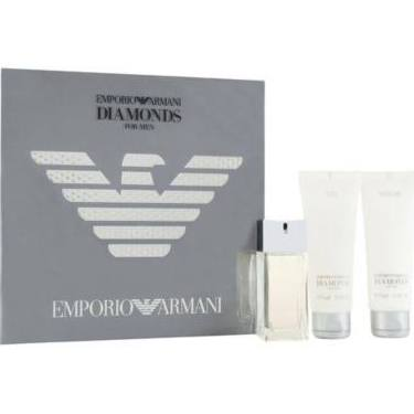 Giorgio Armani Diamonds for Men 50ml EDT Spray gift Set