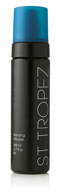St Tropez 200ml Self Tan Dark Bronzing Mousse