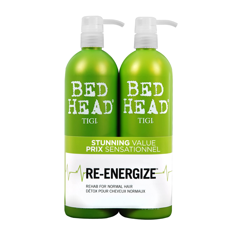 TIGI Bed Head Urban Antidotes ReEnergize Shampoo & Conditioner Tween Duo 2 x 750ml